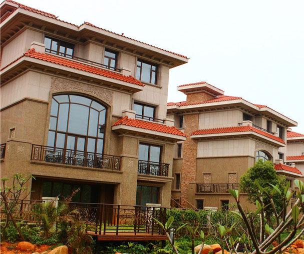 桃源山庄总体规划由四大部分组成:泉州迎宾馆,桃源山庄别墅区,中心